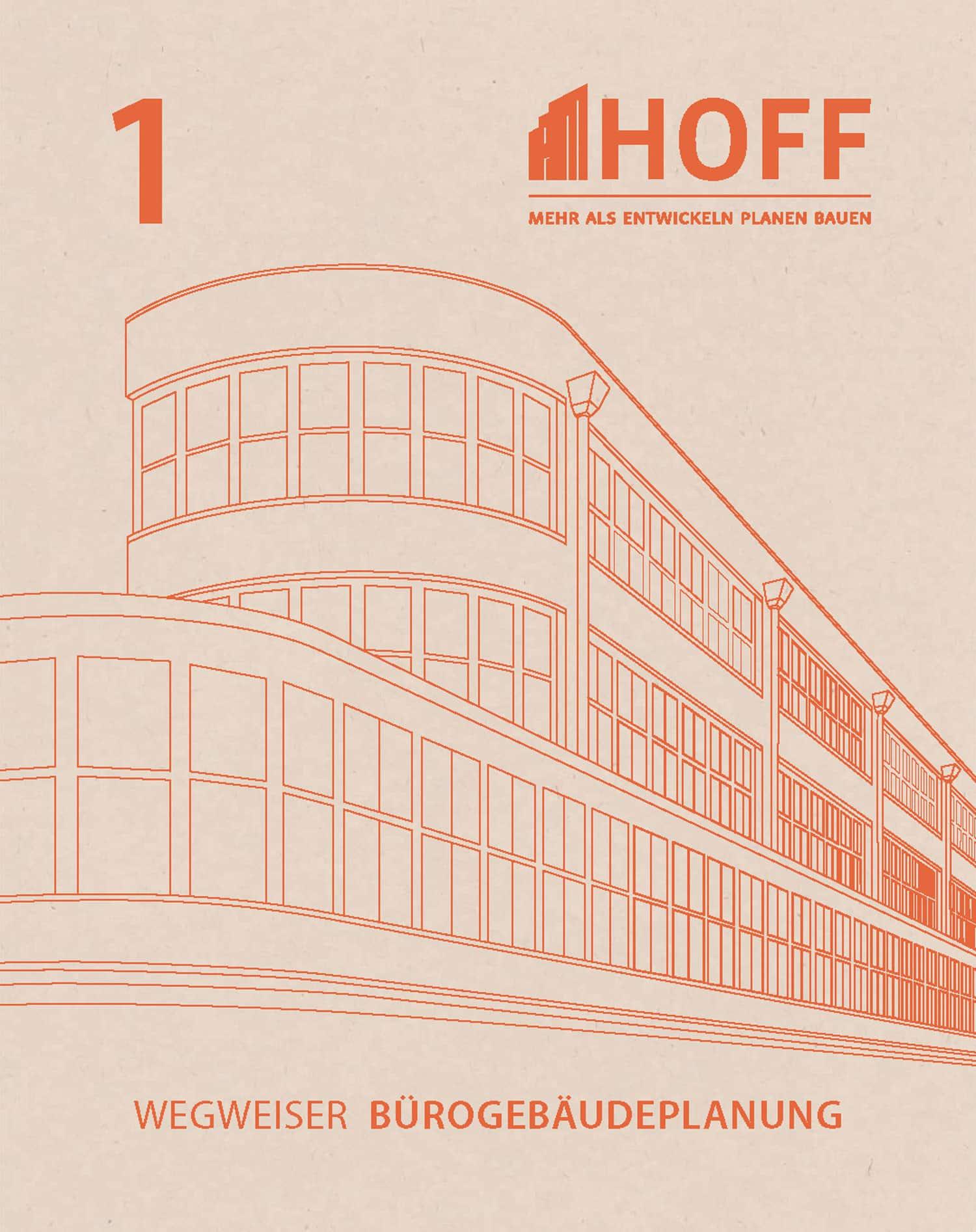 Titel HOFF Wegweiser Bürogebäudeplanung