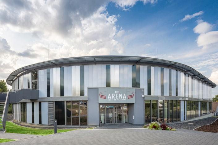 Referenzprojekt Diez Arena HOFF und Partner