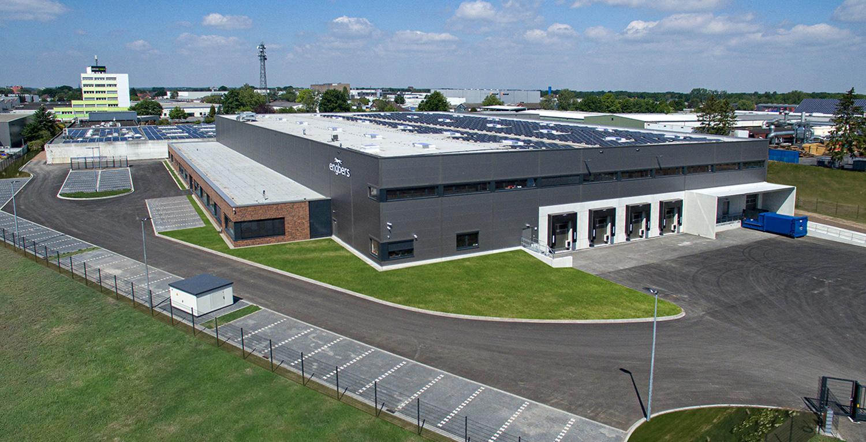 Logistikhalle für Engbers geplant und gebaut von HOFF und Partner
